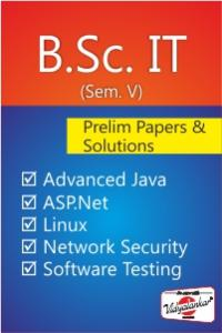 B.Sc. IT - Prelim Paper & Solution (Sem V)