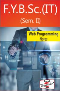 Web Programming : Notes