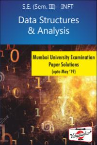 Data Structure & Analysis MU Paper Solutions (upto May '19)